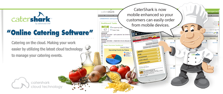 Online Catering Software with Enhanced Mobile Ordering