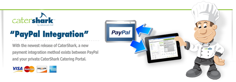 Integrate CaterShark with PayPal